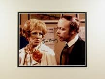 Brian Murphy Autograph Signed Photo - George & Mildred