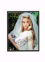Brigitte Bardot Autograph Signed Photo