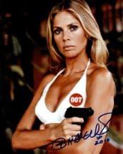 Britt Ekland Autograph Signed - James Bond