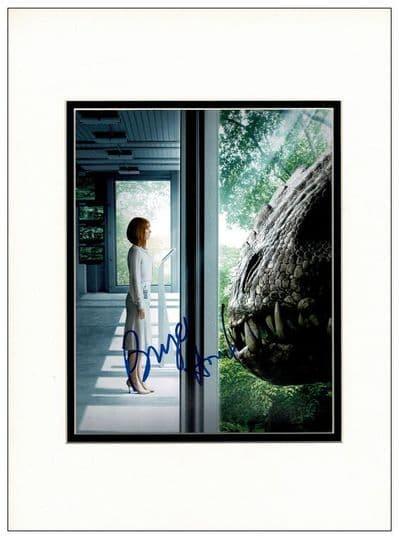 Bryce Dallas Howard Autograph Signed Photo - Jurassic World