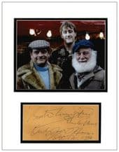 Buster Merryfield Autograph Signed - Only Fools and Horses