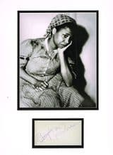 Butterfly McQueen Autograph - Gone With The Wind