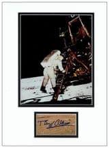 Buzz Aldrin Autograph Signed Display - Apollo 11