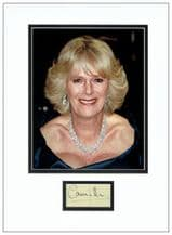 Camilla, Duchess of Cornwall Autograph