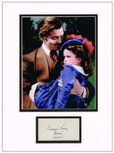 Cammie King Autograph Signed Display - Gone With The Wind