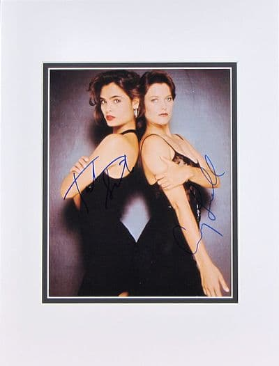 Carey Lowell & Talisa Soto Autograph Signed Photo