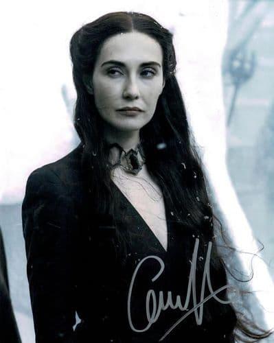 Carice van Houten Autograph Photo Signed - Game of Thrones