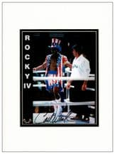 Carl Weathers Autograph Signed Photo - Rocky