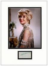 Carol Channing Autograph Signed Display