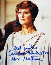 Caroline Blakiston Autograph Signed Photo - Star Wars