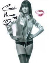 Caroline Munro Signed Photo - James Bond