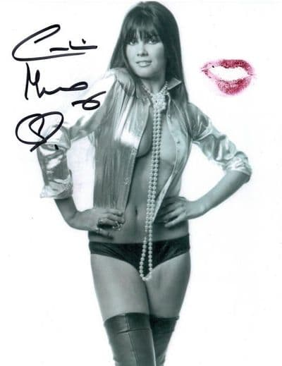 Caroline Munro Signed Photo - James Bond