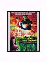 Carry On Screaming Autograph Signed Photo