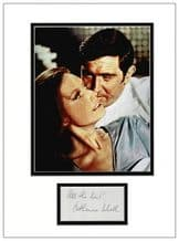 Catherine Schell Autograph Signed Display - OHMSS