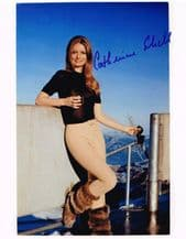 Catherine Schell Autograph Signed Photo - James Bond