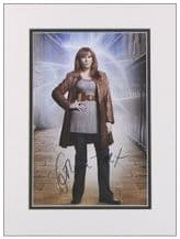 Catherine Tate Autograph Photo Signed - Donna Noble