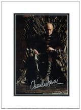 Charles Dance Autograph Signed Photo - Game of Thrones