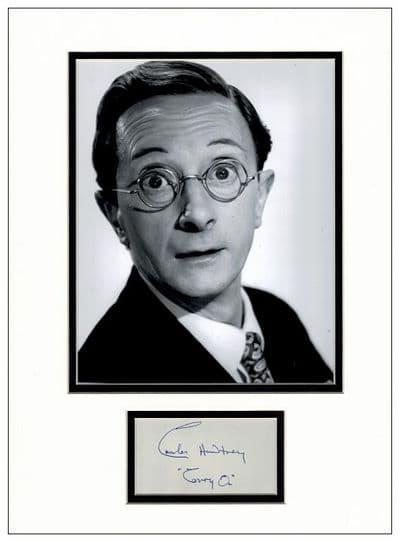 Charles Hawtrey Autograph Signed Display - Carry On