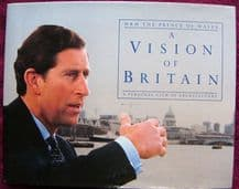 Charles, Prince of Wales Signed Book - A Vision of Britain