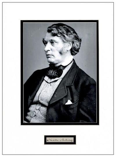 Charles Sumner Autograph Signed Display - American Civil War