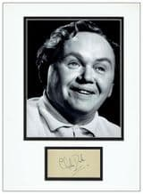 Charlie Drake Autograph Signed