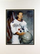 Charlie Duke Autograph Signed  Photo - Apollo 16