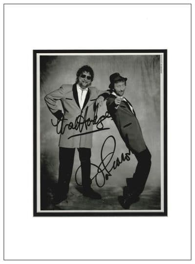 Chas and Dave Autograph Signed Photo