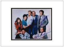 Cheers Cast Autograph Signed Photo
