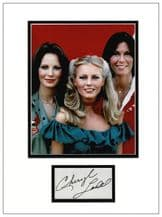 Cheryl Ladd Autograph Signed Display - Charlie's Angels