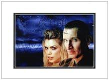 Chris Eccleston & Billie Piper Autograph Photo - Doctor Who