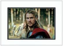 Chris Hemsworth Autograph Signed Photo - Thor