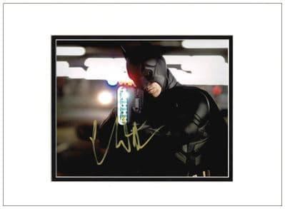 Christian Bale Autograph Signed Photo Batman For Sale