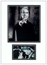 Christopher Lee Autograph Signed - Dracula