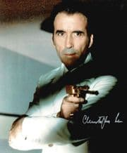 Christopher Lee Autograph Signed Photo - Scaramanga