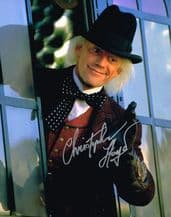 Christopher Lloyd Autograph Signed Photo - Back To The Future
