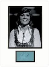 Cilla Black Autograph Display