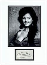 Claudia Cardinale Autograph Signed Display