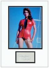 Claudine Auger Autograph Signed Dislay - James Bond