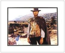 Clint Eastwood Autograph Signed Photo
