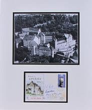 Colditz Autograph Signed First Day Cover - Bader, Reid & Howe