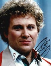 Colin Baker Autograph Signed Photo - Dr Who