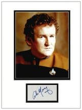 Colm Meaney Autograph Signed Display - Deep Space Nine