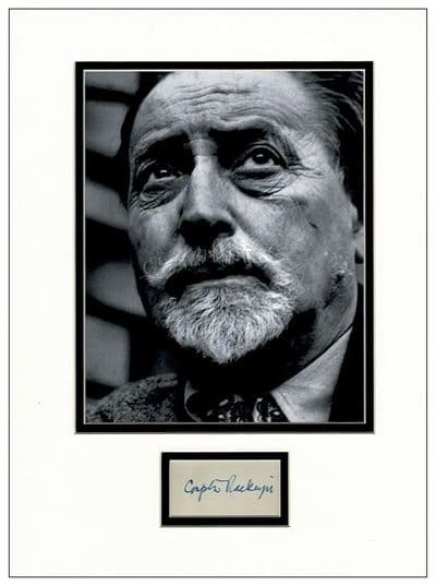 Compton Mackenzie Autograph Signed - Whisky Galore