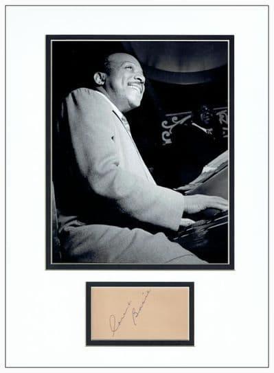 Count Basie Autograph Signed Memorabilia