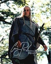 Craig Parker Autograph Signed Photo - Lord of the Rings