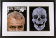 Damien Hirst Autograph Signed Display