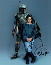 Daniel Logan Autograph Signed Photo - Boba Fett