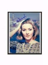 Daniela Bianchi Autograph Signed Photo