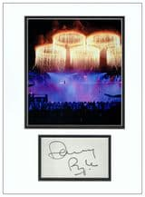 Danny Boyle Autograph Display - 2012 London Olympics