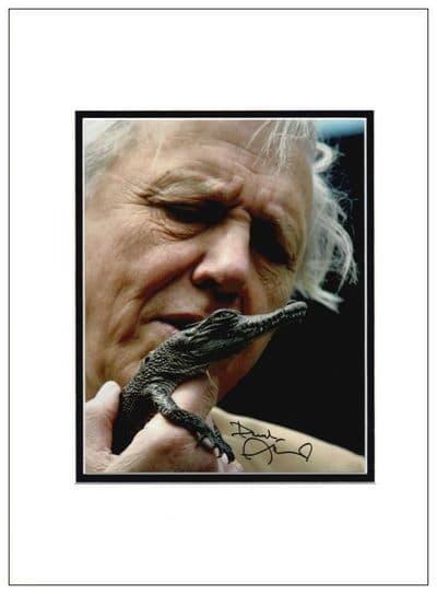 David Attenborough Autograph Signed Photo